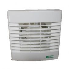 "Ventilation Fan with Run on Timer 100mm 4"" Air Vent Axial Mechanical Extract Fan"